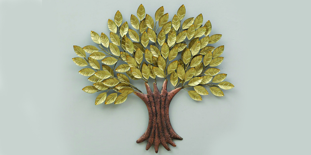 Golden-tree-wall-art-with-led-lighting