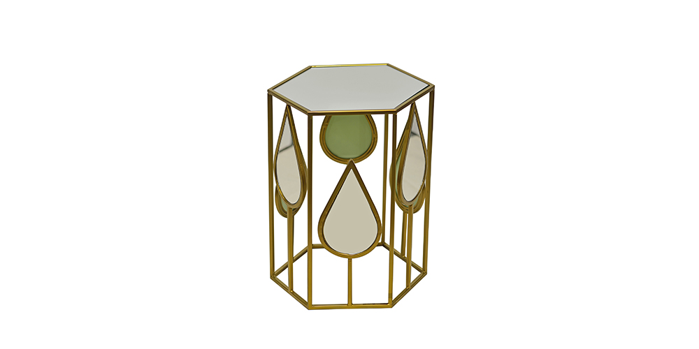 MIRROR-SIDE-TABLE